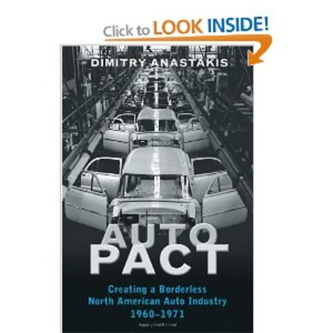 a history of the auto pact in canada Far from being a mere artefact of history, the deal was a forebearer to  prime minister lester pearson and president lyndon johnson signed the canada–us auto pact.