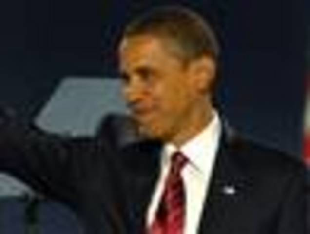 Barack Obama is elected the 44th President of the United States.