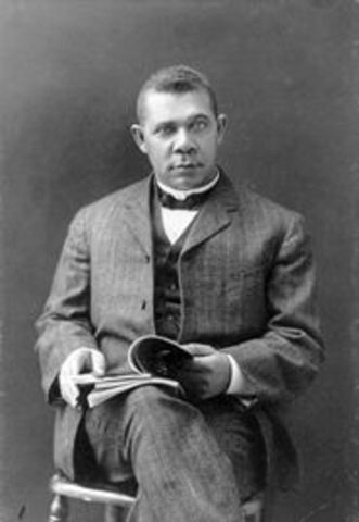 Booker T. Washington becomes the first principal