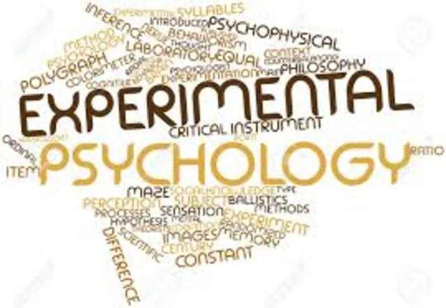 the rise of experimental psychology history How was the psychological world influenced by significant events in world history books, names of drugs, theorists & their theories, laws texts in the history of psychology, and is still in print experimental psychology until the late 1950s.