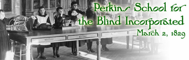 the first school for the blind Teaching students who are deaf-blind and cognitively disabled to effectively communicate choices during mealtime.