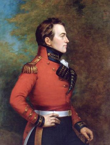 Isaac Brock dies in the Battle of Queenston Heights