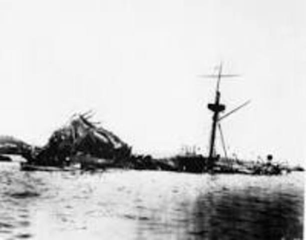introduction to the uss maine history essay Uss maine was sunk february 15, 1898 have you ever played the game battleship to sink your opponent's ships you have to guess where the ships lie on a grid of numbers and letters.