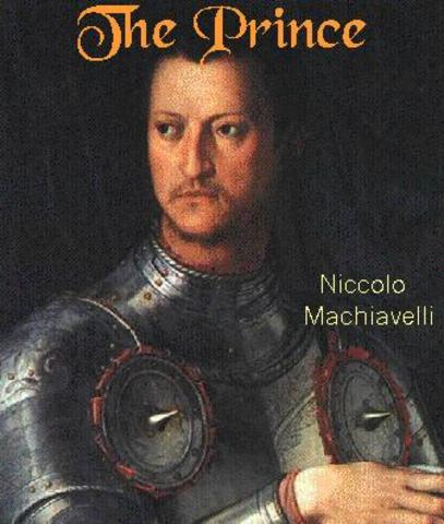 machiavelli writes the prince Everything you need to know about the writing style of niccolò machiavelli's the prince, written by experts with you in mind.
