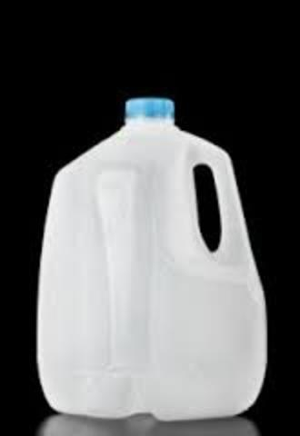 Plastic Milk Container