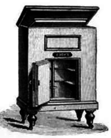 evolution of the refrigerator essay The refrigerator home 1871 carl von linde of germany published an essay on improved 1939 refrigerator with one section for frozen food and a.