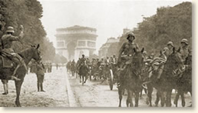 Germans enter Paris.