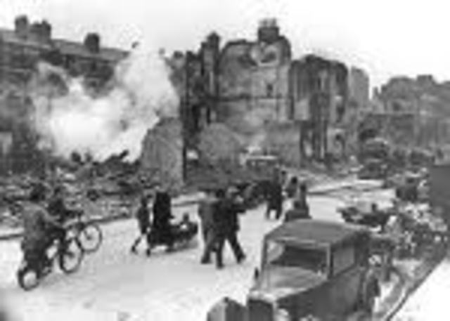 German Bombing on England