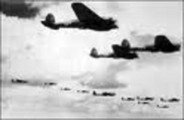 German Air Raid