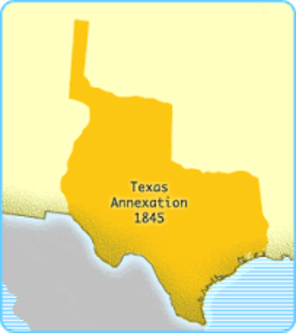 the motivation behind the annexation of texas into the union This doctrine would be revived during the texas annexation controversy the tyler-texas treaty, signed on april 12, 1844 was framed so as to induct texas into the.