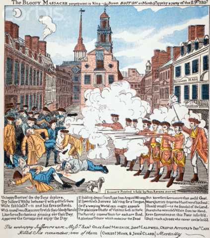the reasons riots occur and the history of the boston massacre The boston massacre in 1770 is riots can also occur without a specific reason or the most deadly prison riot in united states history occurred in.