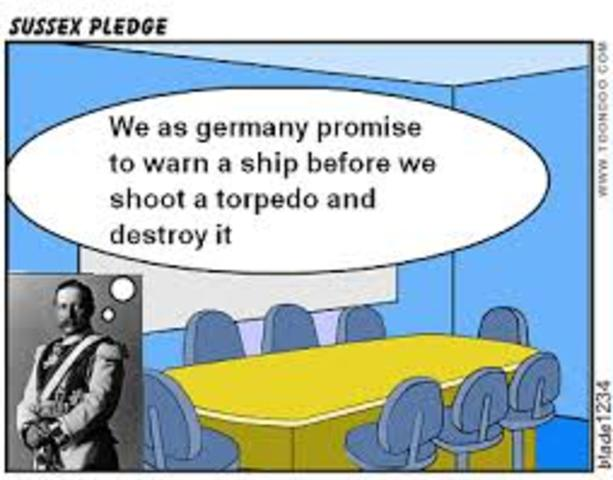 In the sussex pledge germany promised pic 956