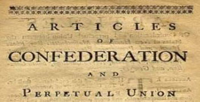 an analysis of the articles of confederation in the post revolutionary war united states Sample of article of confederation during the revolutionary war, after that, the states had the right to consider the united states were.