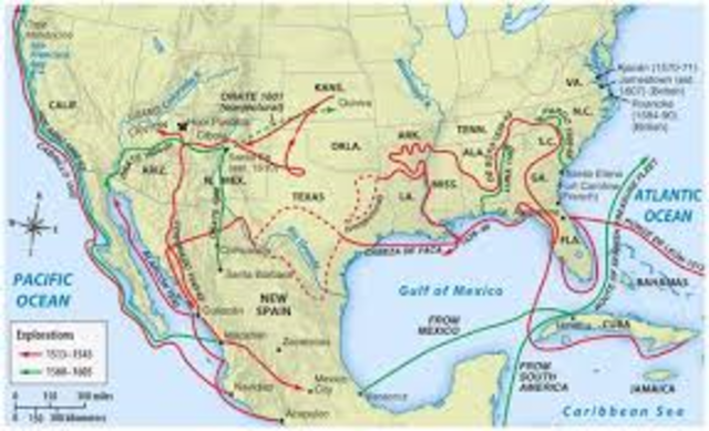 spanish expeditions