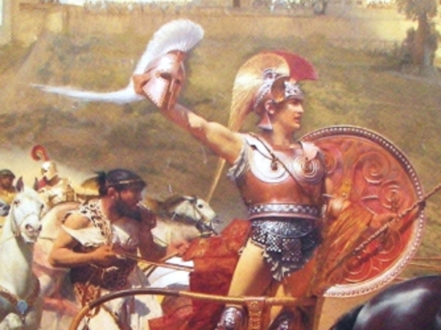 hera and archilles in iliad essay Hera in the iliad (listed by book and line)  (achilles) that hera has sent her to him unbeknownst to the other immortals  home • essays • people,.