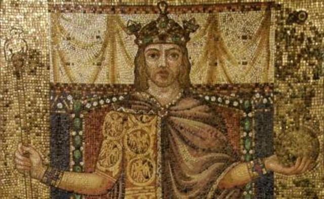 middle ages and holy roman emperor Frederick ii was only two years old when his father died in 1197 ad so there  were several civil wars over who held power while he grew up.