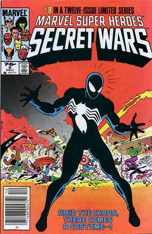 First appearance of the alien symbiote