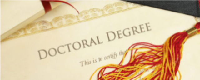 non dissertation doctorate degree