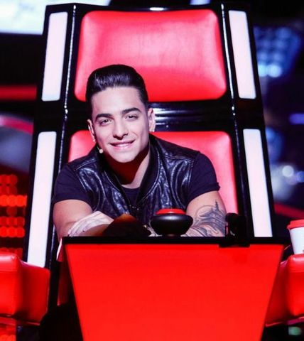 Maluma in 2014 and 2015 served as judge and coach The Voice Kids.