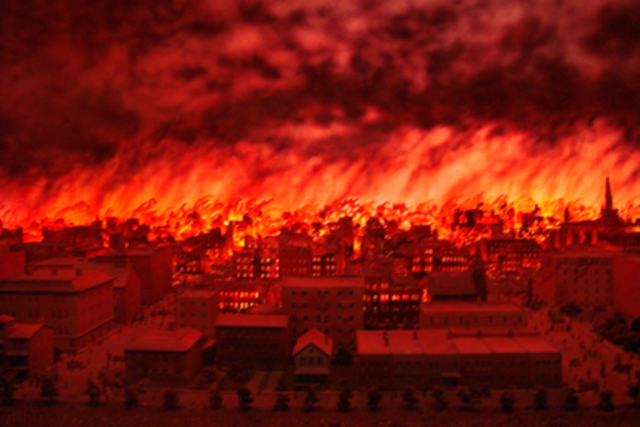 the destructive inferno of the great chicago fire in the nineteenth century City of the century is a wonderfully written history of the development and trials and tribulations of nineteenth century chicago the good - the bad - and the ugly the story is captivating and i found it hard to put it down.