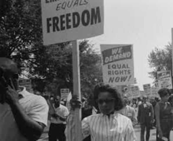a description of civil disobedience in the 1960s by people fighting for the rights of african americ The role of the african american church in the civil rights would permit people of african descent to have as engage in civil disobedience or in the.