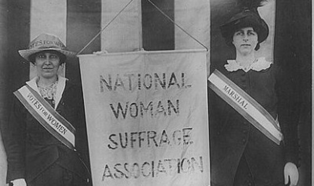 the history of womens suffrage movement in america Essay about the history of the women's suffrage movement 977 words 4 pages women's suffrage, or the crusade to achieve the equal right for women to vote and run for political office, was a difficult fight that took activists in the united states almost 100 years to win.