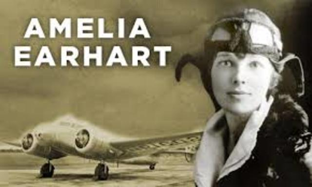 the struggles in the early life of amelia earhart Throughout her life, amelia earhart challenged and encouraged women to be independent and contribute use the background information to summarize amelia's life.