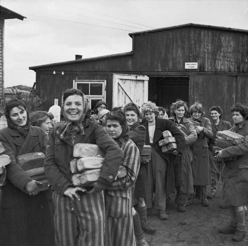 Bergen-Belsen is liberated