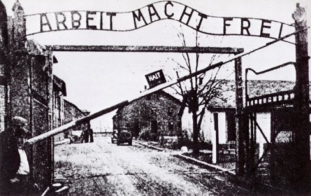 Arriving at Auschwitz