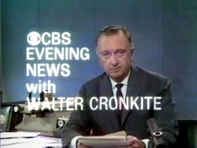 Walter Cronkite Timeline Timetoast Timelines