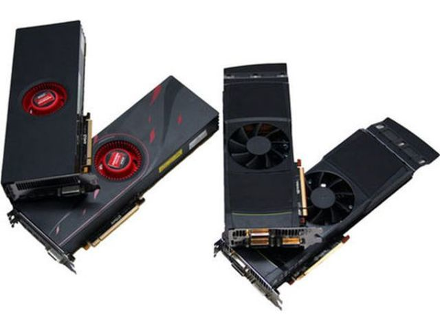 AMD Radeon HD 6990 y NVIDIA GeForce GTX 590