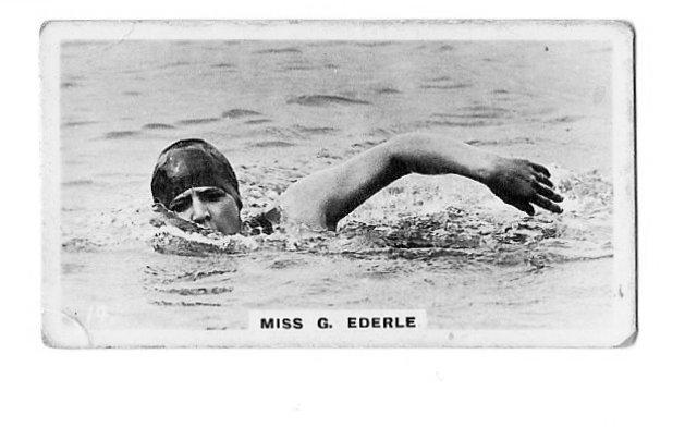 Gertrude Ederle Swimming The English Channel Milestones of Women 19...
