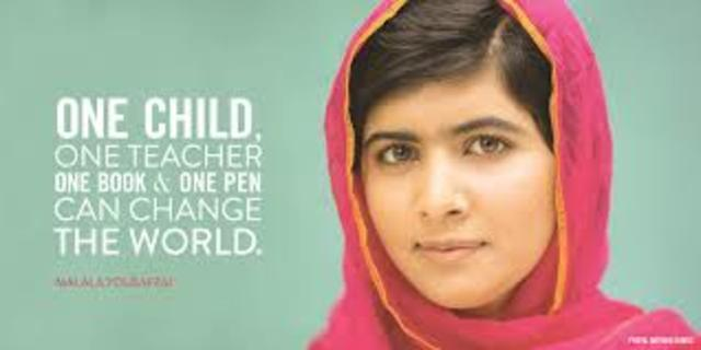Malala's Life timeline | Timetoast timelines