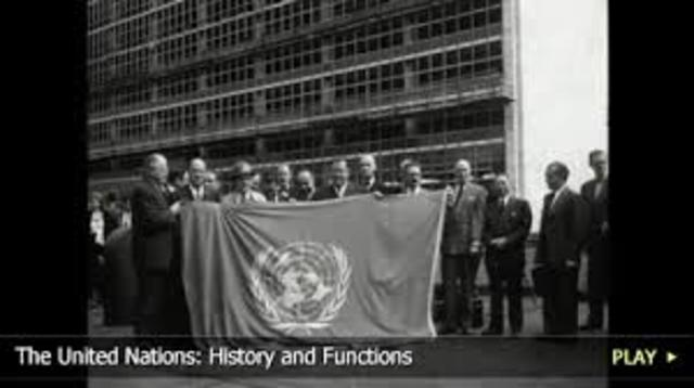 the origin and history of the united nations The history of the united states is what the united states sent soldiers into bosnia as part of a united nations mission the united states also agreed to.