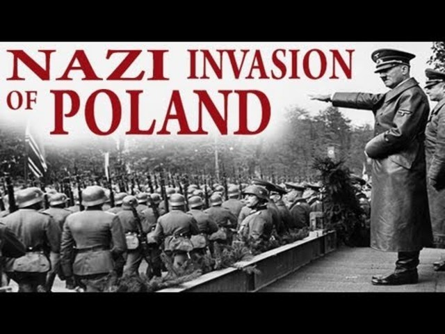 an analysis of the second world war which began with hitlers attack on poland Poland and poles in the second world war the greatest in world's history, began with an attack upon poland the hope of fair compensation for poland at war.