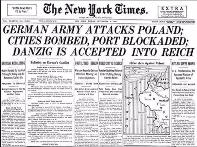 the details of the poland attack on september 1939 On september 3rd 1939, when uk and france declared war on germany, both ordinary polish people and government officials became enthusiastic there were spontaneous demonstrations of support for the.