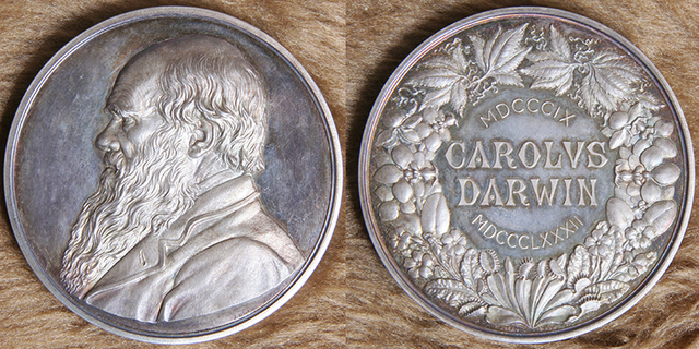 First Recipient of Royal Society Darwin Medal
