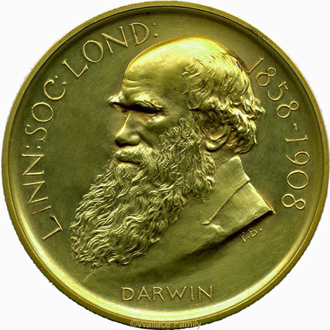 First recipient of the Darwin-Wallace Medal (only gold version)
