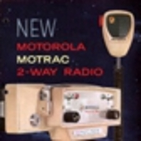 Motorola Motrac Vehicular Two-Way Radio