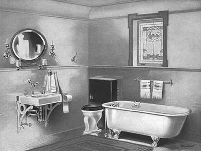 indoor plumbing and public sanitation in While we often take modern indoor plumbing for granted, it hasn't  pipes and  water channels used to supply baths, homes and public wells  soon, soap was  introduced during bathing and catches on for hygiene purposes.