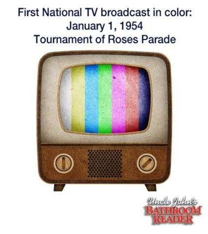an introduction and the development of color television Color becomes the wave of the future and the remote control is invented  although  the family dinner is revolutionized with the introduction of the tv  dinner.