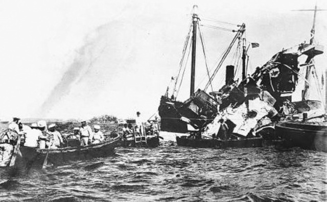 """sinking uss maine essay Destruction of the maine (1898) the destruction of the maine upon any person or persons"""" take another look at the sinking of the maine."""