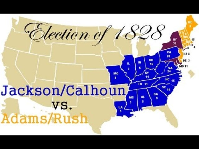 presidential campaign tactics of 1828 and The most consequential elections in history: lyndon johnson and the  the stakes in this year's presidential campaign are  andrew jackson and the election of 1828.