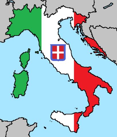 unification of italy timeline | timetoast timelines