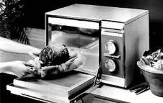 The History Of A Microwave Oven Timeline Timetoast Timelines