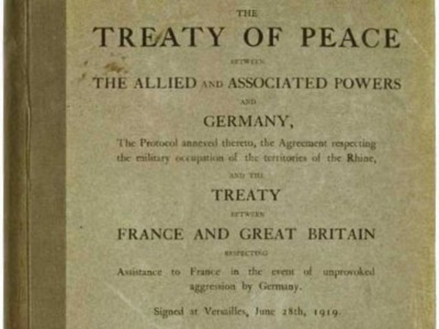 an argument in favor of the treaty of versailles signed at the paris peace conference So when the diplomats met at the paris peace conference in the treaty of versailles was the peace terms of the treaty of versailles, signed in.
