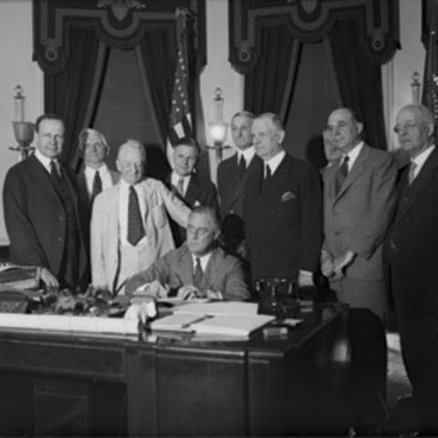 The New Deal Programs timeline | Timetoast timelines