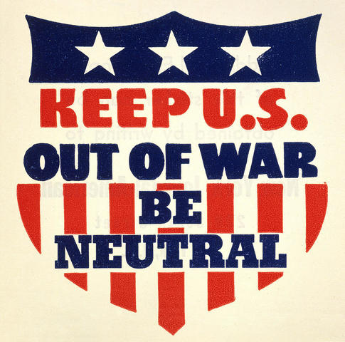 a comparison of the united states neutrality during world war i and world war ii How did popular publications in the united states respond to world war i  during wilson's policy of neutrality, had featured mothers who didn't want their.