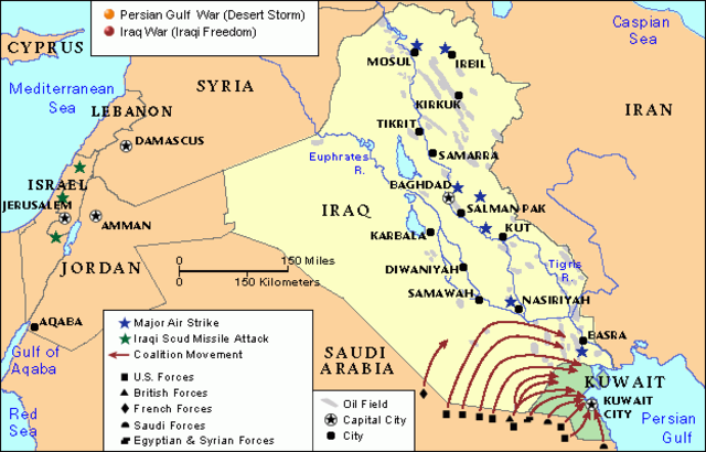 why it was inevitable that iraq was to loose the persian gulf war School of advanced military studies united states army command are military intelligence failures inevitable iraqi aggression during the persian gulf war.