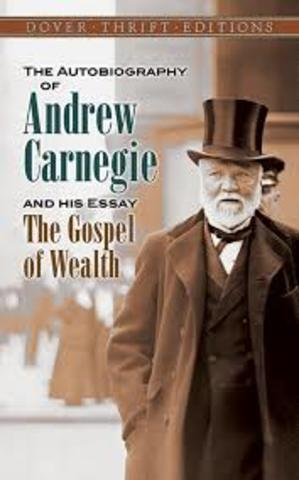 the gospel of wealth during the guilded age Gospel of wealth andrew carnegie was an advocate of the gospel of wealth the philosophers of the gospel of wealth believed that people or americans that have great wealth should engage in society and help make things that would benefit everyone so they could help themselves.